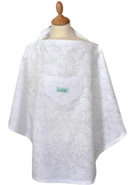 Nursing cover Azalée White