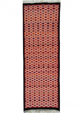 Tapete berbere Tapete Kilim longo Jeyed 70x200 Multicor (Tecidos à mão, Lã) Tapete tunisiano kilim, estilo marroquino. Tapete re