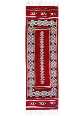 Tapete berbere Tapete Kilim longo Senniri 58x197 Multicor (Tecidos à mão, Lã) Tapete tunisiano kilim, estilo marroquino. Tapete