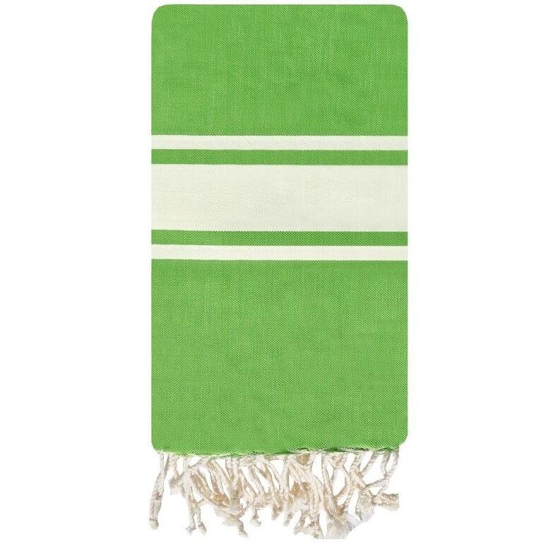 Fouta Pomme Canvas - 100x200 - Green - 100% cotton
