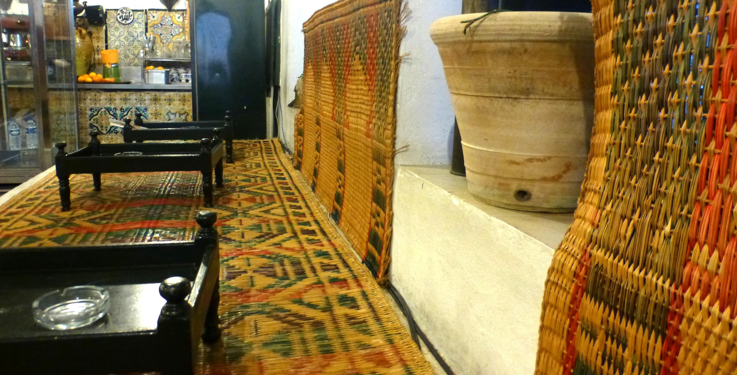 Le Café des nattes à Sidi Bou Saïd