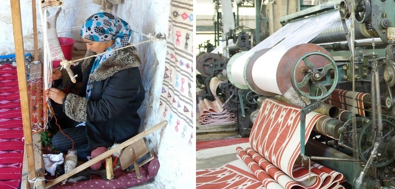 Tunisian carpet craftswomanship in danger