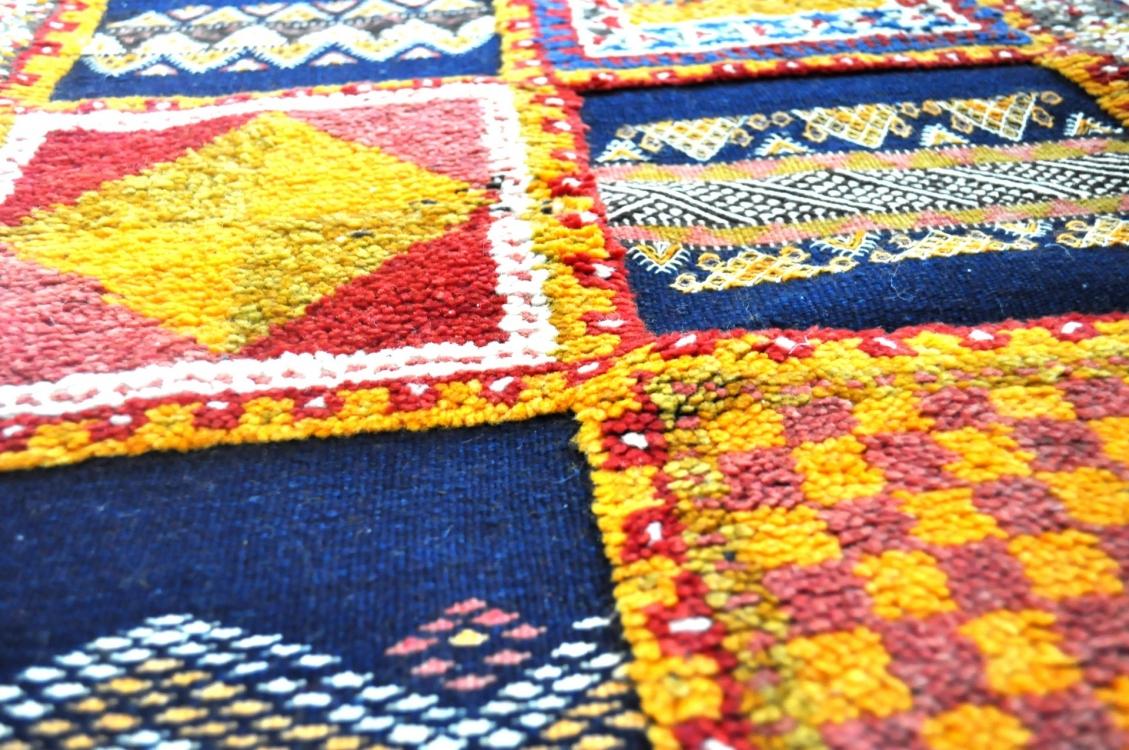 Het Marokkaanse tapijt uit de Hoge Atlas