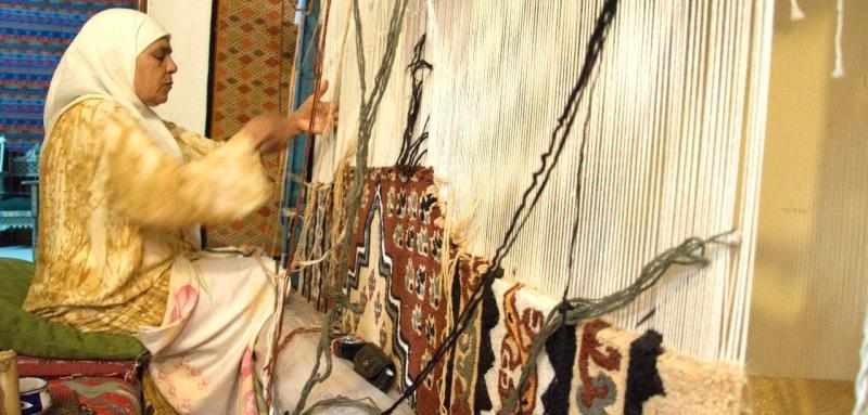 Revitalize o artesanato do tapete tunisino