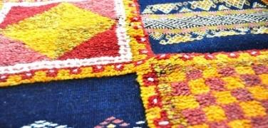 Der marokkanische Teppich aus dem Hohen Atlas
