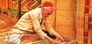 Os fabricantes de esteiras de Nabeul (Tunísia)